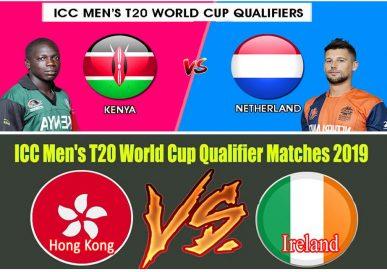 आईसीसी टी–२० विश्वकप क्रिकेट छनौट खेलमा आयरल्यान्ड र नेदरल्यान्ड्स विजयी