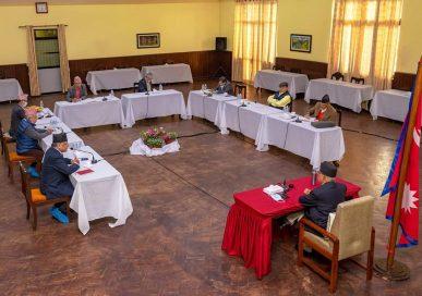 शीर्ष नेताहरुबीच सहमतिकै आधारमा अघि बढ्ने सचिवालय बैठकको सहमति