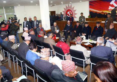 नेकपा स्थायी कमिटीको बैठक आज बस्दै