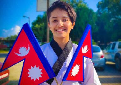 भर्चुअल राष्ट्रिय खुला तेक्वान्दोमा मूलपानी टिम च्याम्पियन