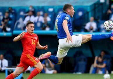 युरो कप : इटलीले वेल्सलाई १–० गोलले हरायो
