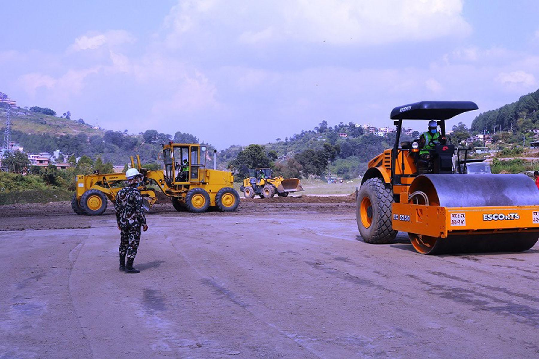 काठमाडौं-तराई-मधेश द्रुतमार्गको प्रगति अपडेट (फोटो फिचर)