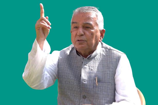 देउवा राजनीतिक 'अनिर्णयको बन्दी' भएका छन्। – रामचन्द्र पौडेल (अन्तवार्ता)