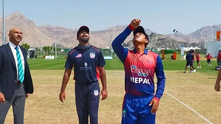 आइसीसी विश्वकप क्रिकेट लिगः नेपाल अमेरिकासँग पराजित