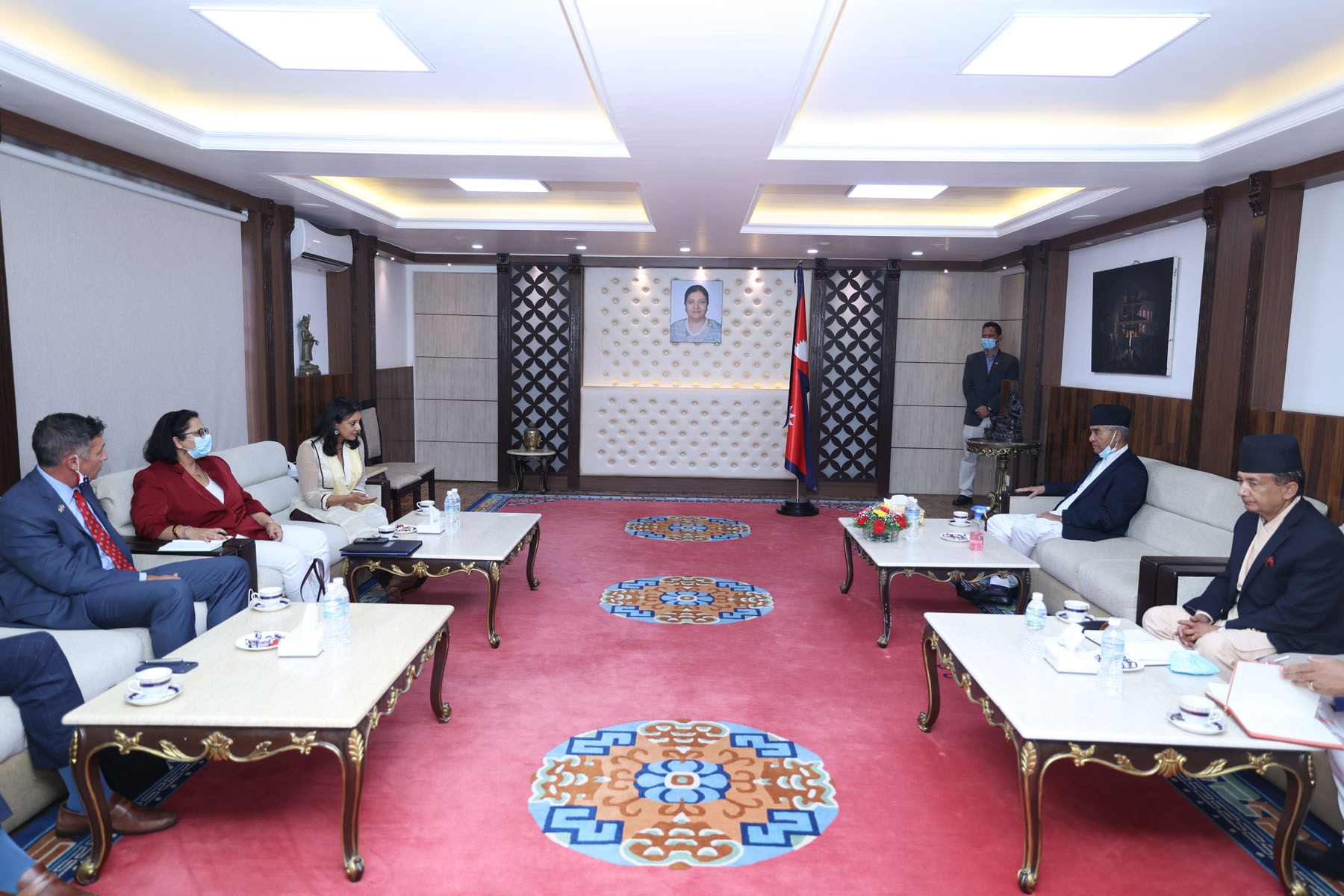 एमसिसी सम्झौताबारे प्रधानमन्त्री र सुमारबीच छलफल