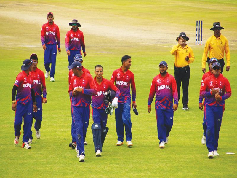 विश्वकप क्रिकेट लिग–२ : नेपाल ओमानसँग पाँच विकेटले पराजित