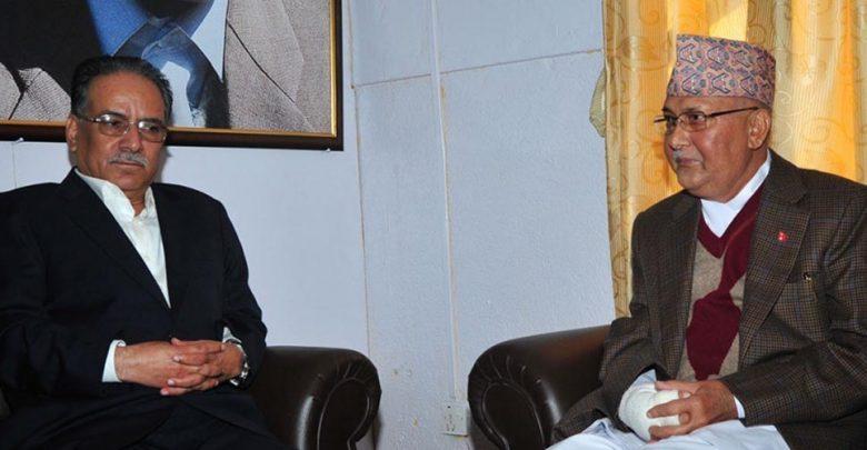 नेकपा विवाद: बिहान १० बजे भेट्दै ओली र प्रचण्ड