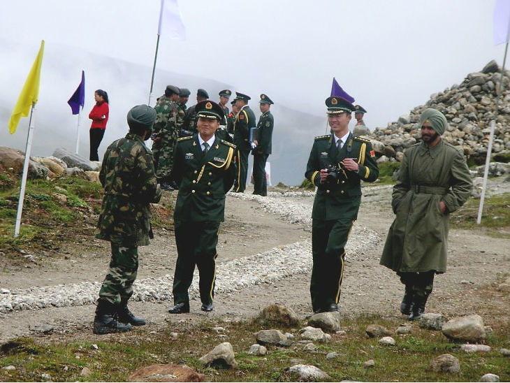 गलवान क्षेत्रबाट पछि हटे चिनियाँ र भारतीय सेना